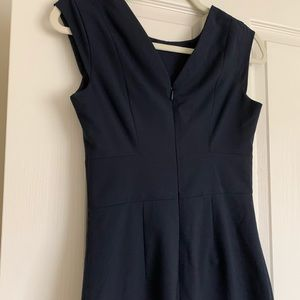 The Limited navy blue dress size 0